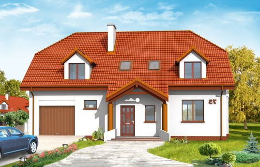 House plan Acacia - front visualization