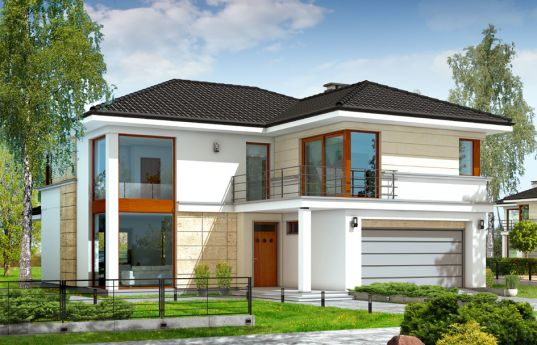 House plan Riviera - front visualization