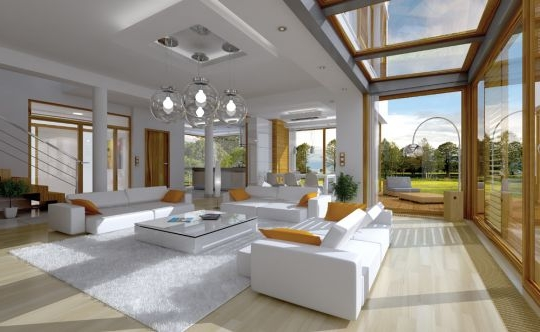 House plan Vertigo - interior fot 1