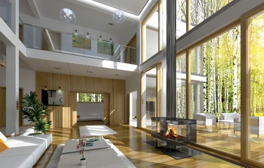 House plan Villa Nova - interior visualization fot 2