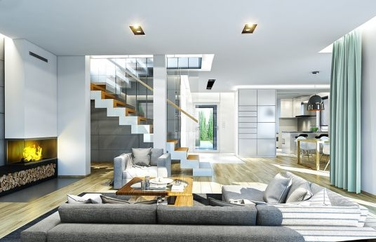 House plan Cassiopeia 7 - interior visualization fot 3