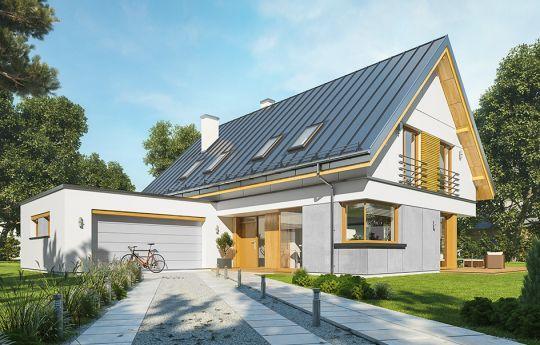 House plan Viking 5 - front visualization