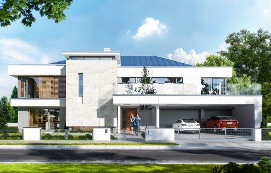 House plan Villa Florida - front visualization