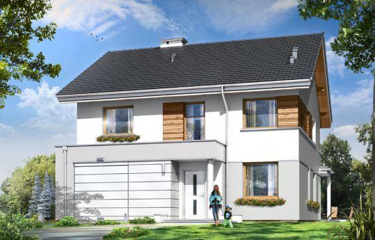 House plan Miranda - front visualization
