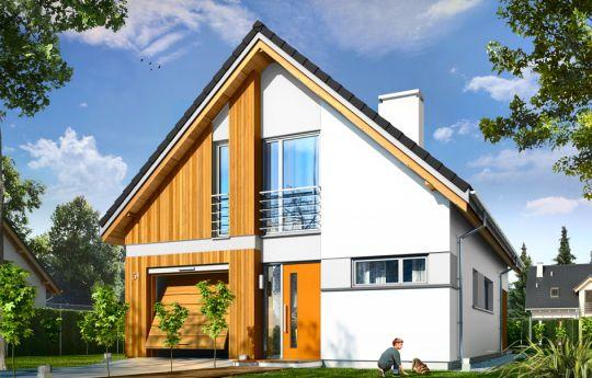 House plan Lena - front visualization