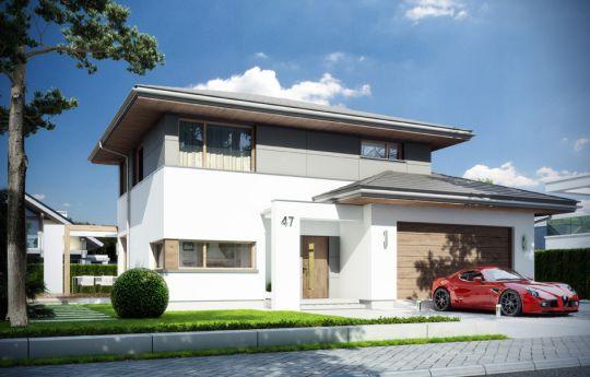 House plan Modena - front visualization