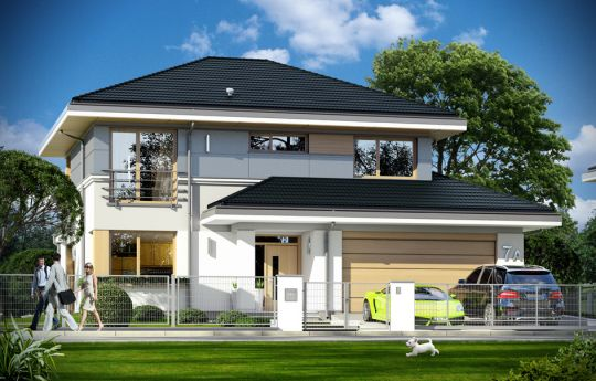 House plan Sydney - front visualization