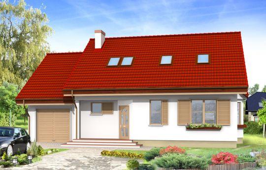 House plan Natty - front visualization